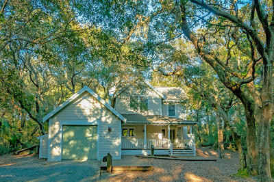 Bald Head Island Single Family Home For Sale: 57 Fort Holmes Trail