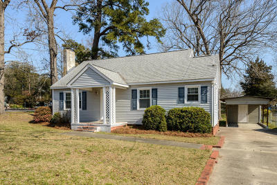 Grifton Single Family Home For Sale: 357 W Queen Street