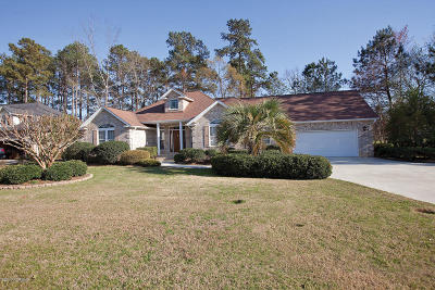 Calabash Single Family Home Sold: 492 Stanton Hall Drive NW