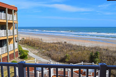 Onslow County Condo/Townhouse Active Contingent: 1822 New River Inlet #1204