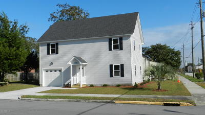 Morehead City Single Family Home For Sale: 1212 Bridges Street