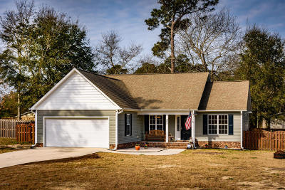 Sneads Ferry Single Family Home For Sale: 207 Chadwick Shores Drive