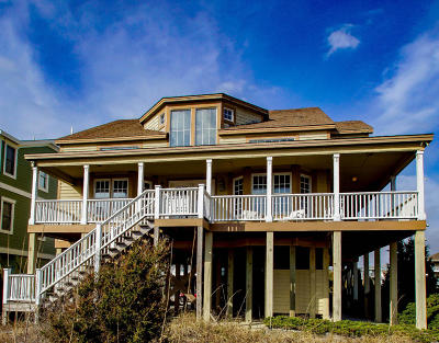 Oak Island Single Family Home For Sale: 7007 E Beach Drive