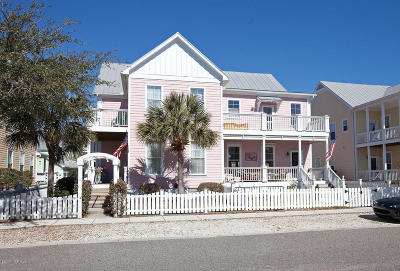 Carolina Beach, Kure Beach Condo/Townhouse For Sale: 237 Silver Sloop Way