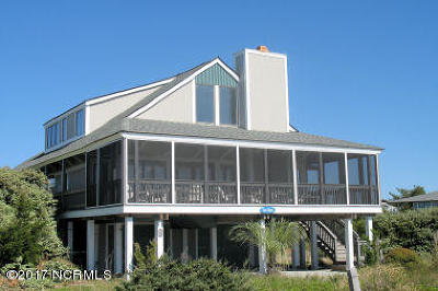 Bald Head Island Single Family Home For Sale: 3 Starrush Trail