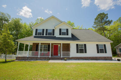 hubert Single Family Home For Sale: 205 Lee Rogers Road