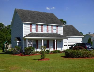 Swansboro Single Family Home For Sale: 114 Steep Hill Drive