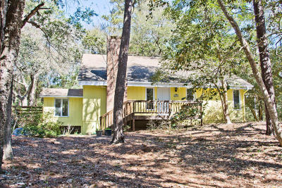 Pine Knoll Shores Single Family Home For Sale: 126 Hawthorne Drive