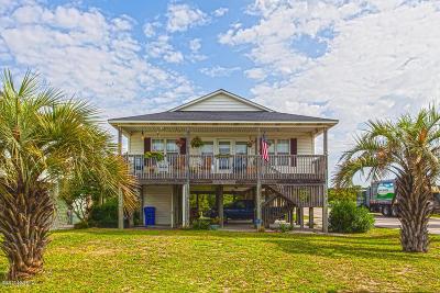 Oak Island Single Family Home For Sale: 102 W Pelican Drive