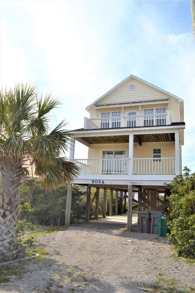 Surf City Condo/Townhouse For Sale: 809 N Topsail Drive N #A