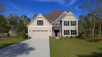 Sneads Ferry Single Family Home For Sale: 270 Mimosa Drive