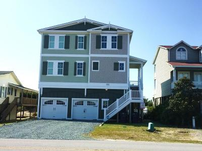 Holden Beach Single Family Home For Sale: 911 Ocean Boulevard W