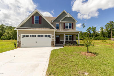 Jacksonville Single Family Home For Sale: 513 Maggies Court #Lot 20