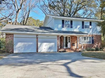 Morehead City Single Family Home For Sale: 4200 Country Club Road