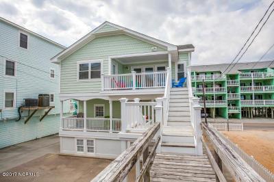Carolina Beach, Kure Beach Single Family Home For Sale: 1010 Carolina Beach Avenue N