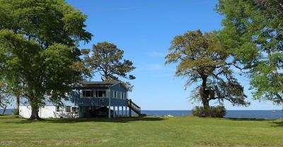 Beaufort Single Family Home For Sale: 269 Pamlico Parkway