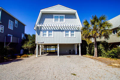 Oak Island Single Family Home For Sale: 1724 W Pelican Drive