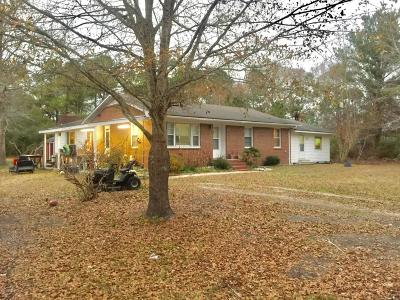Onslow County Single Family Home For Sale: 110 Slendertree Lane