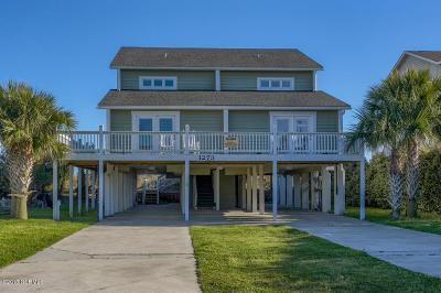 Holden Beach Single Family Home For Sale: 1273 Ocean Boulevard W #1