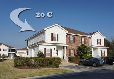 Calabash Condo/Townhouse For Sale: 8855 Radcliff Drive NW #20c
