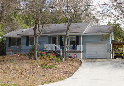 Emerald Isle Single Family Home For Sale: 308 Loblolly Street