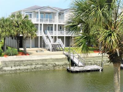 Ocean Isle Beach Single Family Home For Sale: 45 Lee Street