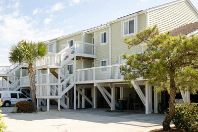 Carolina Beach, Kure Beach Condo/Townhouse For Sale: 1100 Fort Fisher Boulevard S #506