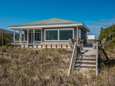 Topsail Beach Single Family Home For Sale: 213 S Anderson Boulevard #B