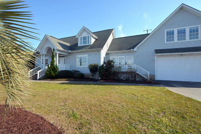 Harkers Island NC Single Family Home For Sale: $394,000
