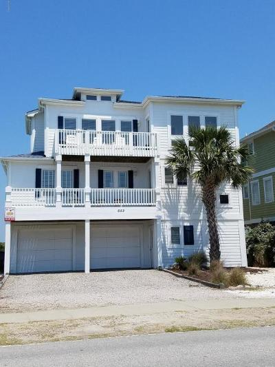 Holden Beach Single Family Home For Sale: 652 Ocean Boulevard W