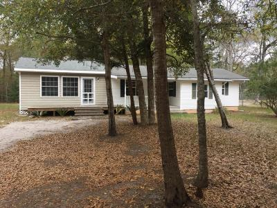 Sunset Beach NC Single Family Home For Sale: $133,500