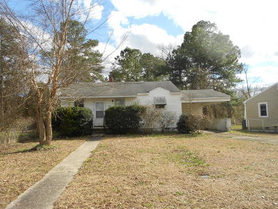 Jacksonville Single Family Home Active Contingent: 428 New River