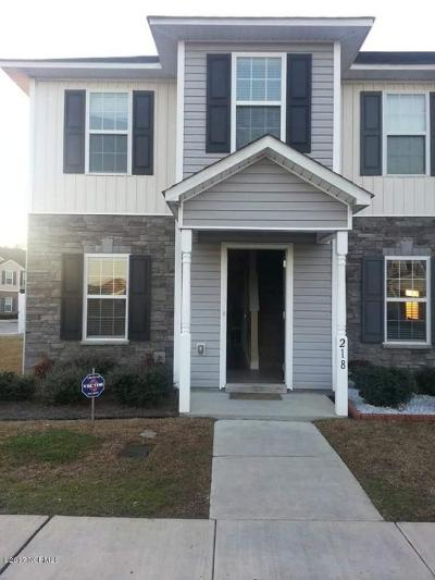 Onslow County Condo/Townhouse Active Contingent: 218 Glen Cannon Drive