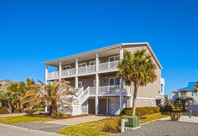 Holden Beach Single Family Home For Sale: 200 Brunswick Avenue W