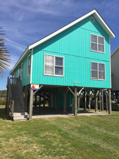Holden Beach Single Family Home For Sale: 306 Sand Dune Lane