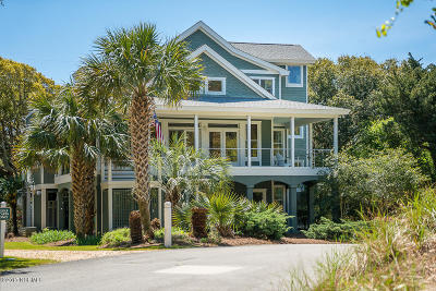 Indian Beach Single Family Home For Sale: 117 Sea Isle Drive N
