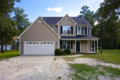 Richlands Single Family Home For Sale: 261 Wagonwheel Lane
