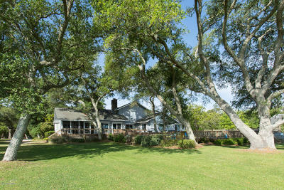 Beaufort NC Single Family Home For Sale: $1,700,000