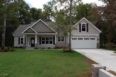 Calabash Single Family Home For Sale: 9055 Oak Ridge Plantation Drive SW
