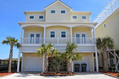 Ocean Isle Beach Single Family Home For Sale: 3 Coggeshall Drive