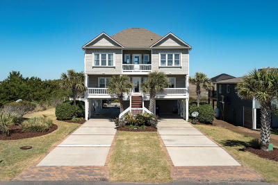 Oak Island Single Family Home For Sale: 514 Caswell Beach Road