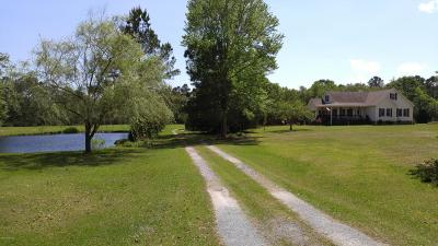 Holly Ridge Single Family Home For Sale: 460 Old Folkstone Road