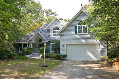 Pine Knoll Shores Single Family Home For Sale: 128 Hawthorne Drive