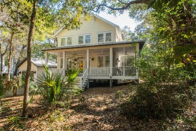 Bald Head Island Single Family Home For Sale: 4 Live Oak Trail