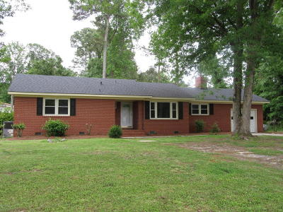 Grifton Single Family Home For Sale: 284 McCotter Drive