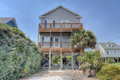 North Topsail Beach, Surf City (onslow) Single Family Home For Sale: 1305 Trout Street