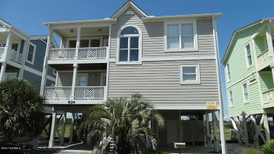 Holden Beach Single Family Home For Sale: 634 Ocean Boulevard W