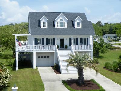 Beaufort Single Family Home For Sale: 109 Taylors Creek Lane