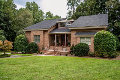 Rocky Mount Single Family Home For Sale: 104 Claremont Court