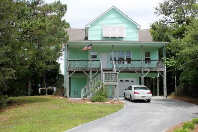 Emerald Isle NC Single Family Home For Sale: $570,000